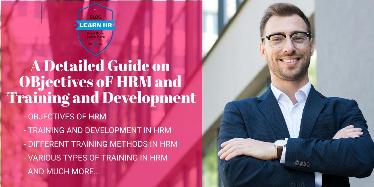 Objectives of HRM Training and Development in HRM