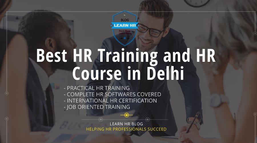 HR Course in Delhi, HR Training in Delhi, HR Practical Training in Delhi